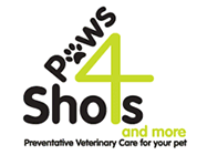 Paws4Shots logo